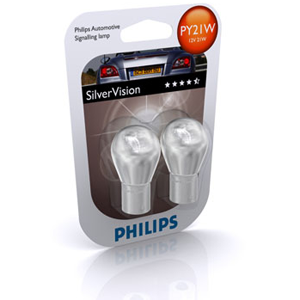 SILVERVISION : Ampoules clignotants auto Phillips SILVERVISION