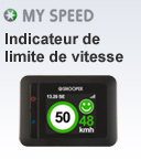 Indicateurs de limites de vitesses Snooper MySpeed