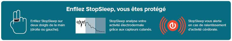Achat de la bague Stop Sleep protection anti-somnolence