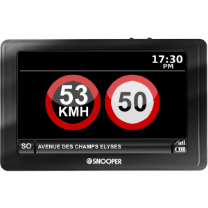 Acheter au meilleur prix du Snooper MySpeed : indicateur de limite de vitesse MySpeed de Snooper